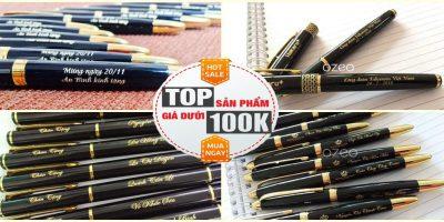 Tổng Hợp Những Chiếc Bút Bi Quà Tặng Dưới 100K Tốt Nhất Hiện Nay