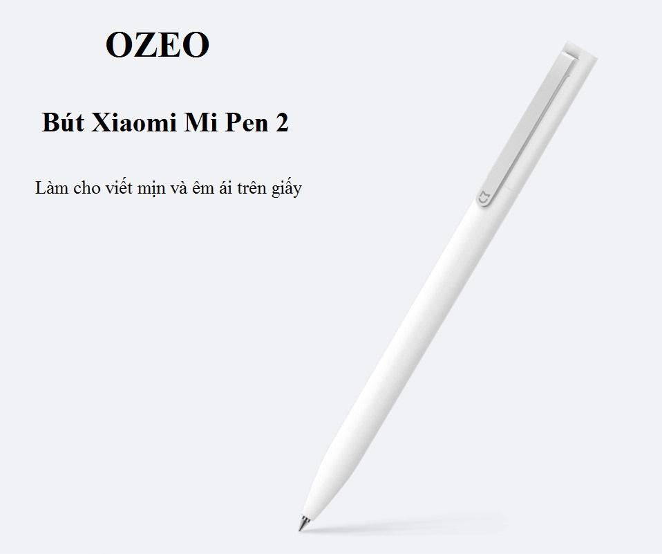 Bút bi Xiaomi Mi Pen 2 chất liệu vỏ bằng kim loại