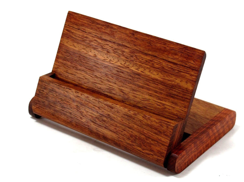 Hộp đựng name card gỗ NC09 với kiểu lật sáng tạo
