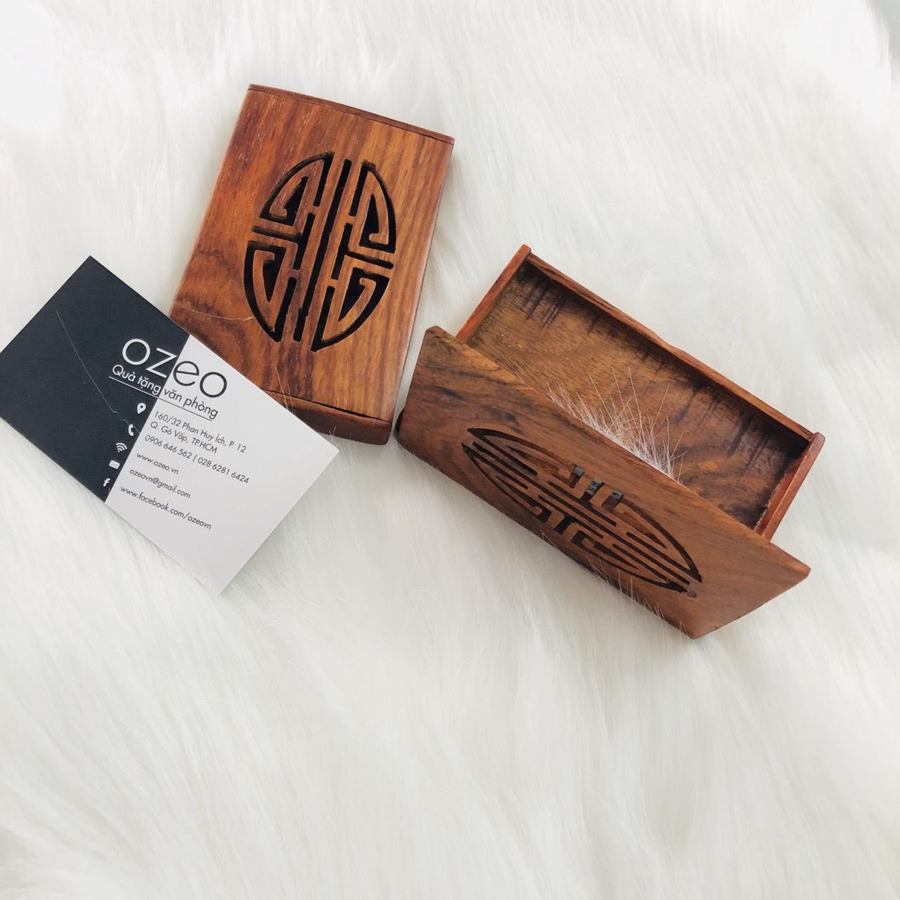 Hộp đựng name card gỗ NC092