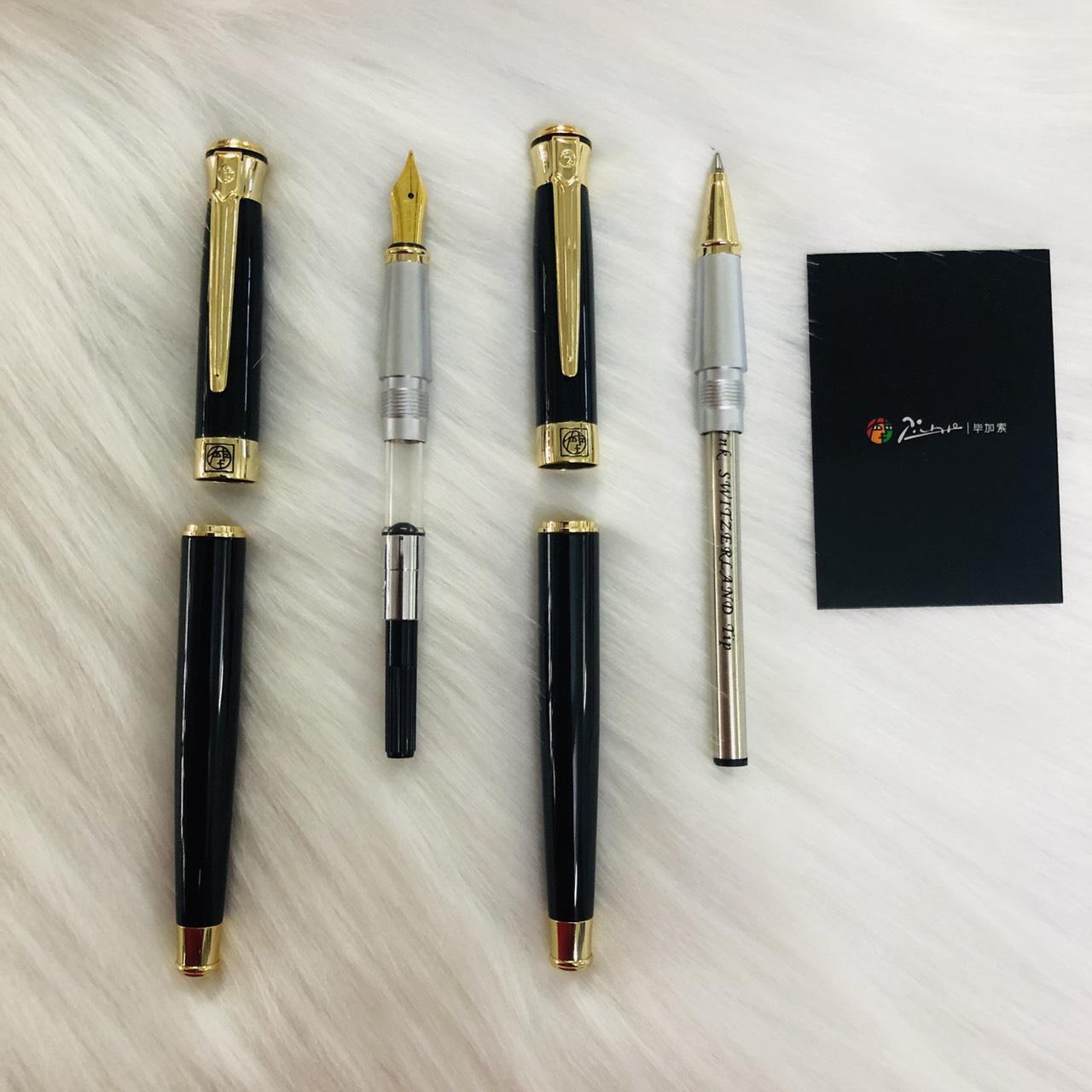 Bút ký cao cấp Picasso 903 ngòi bút máy và ngòi bút bi