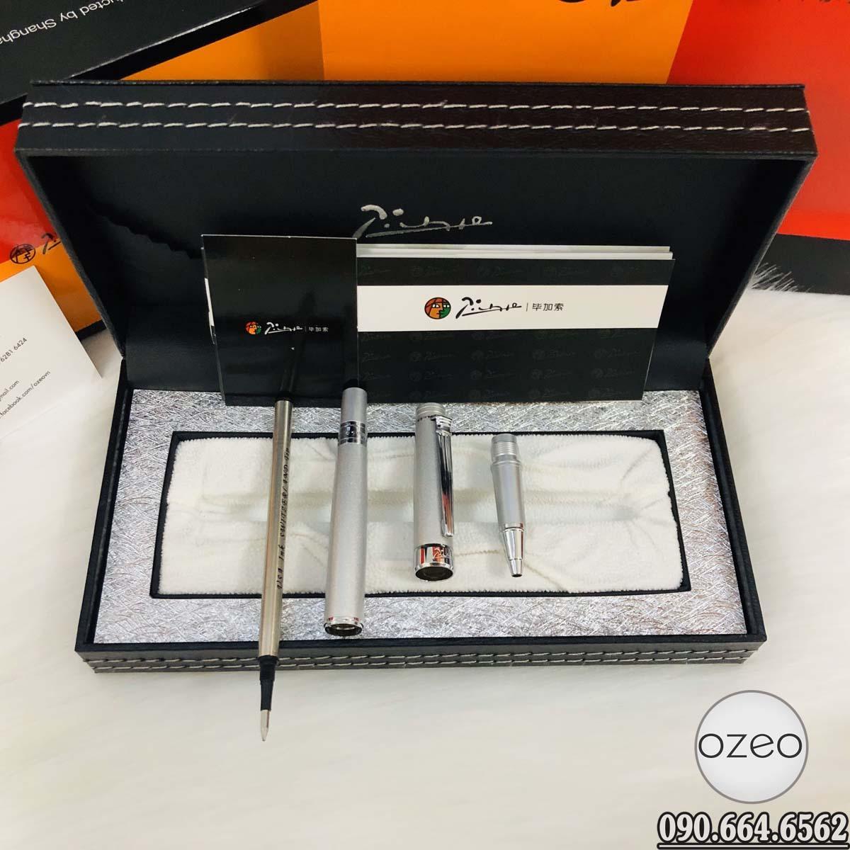 Chi tiết cấu tạo của bút dạ bi Picasso 917T