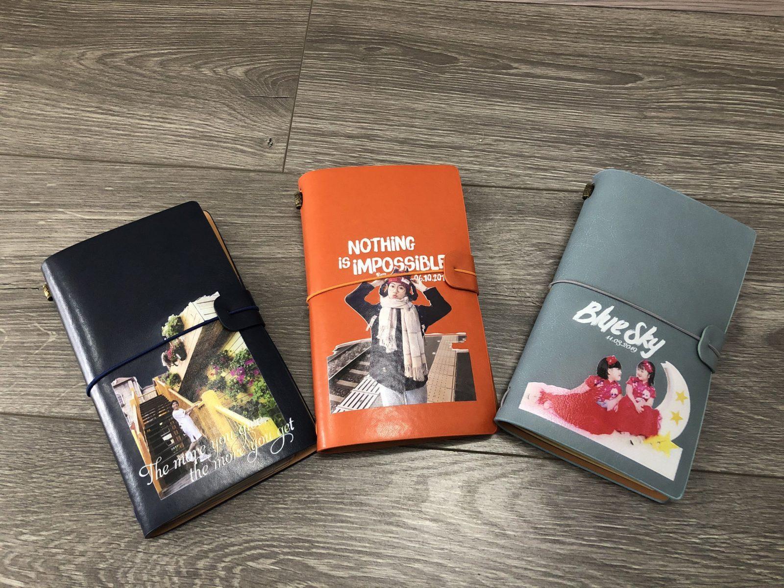 Chất lượng, màu sắc hình ảnh in trên bìa sổ Midori