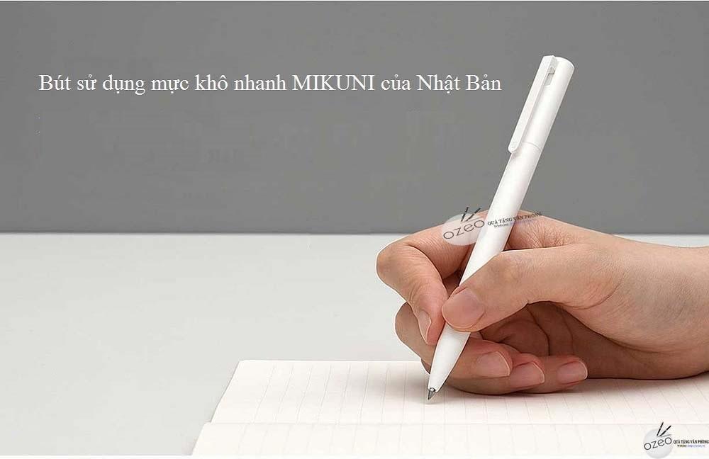 Sử dụng mực chất lượng MIKUNI của Nhật Bản