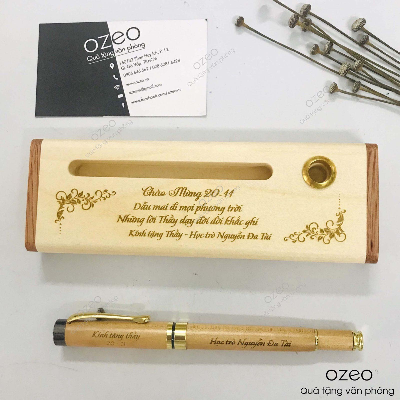 Bút gỗ, viết gỗ có tốt không?