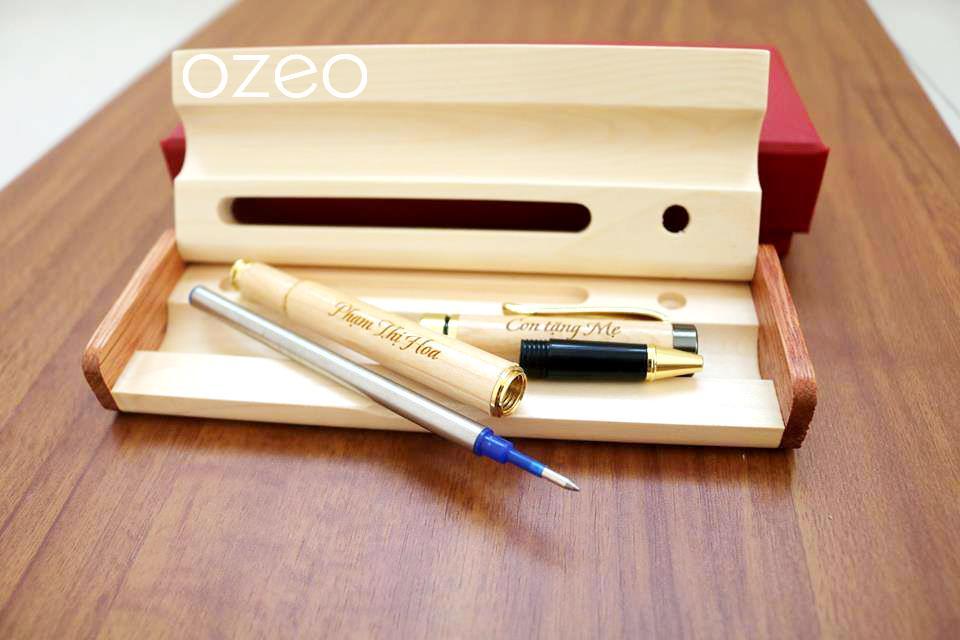 Thiết kế độc đáo của bút gỗ