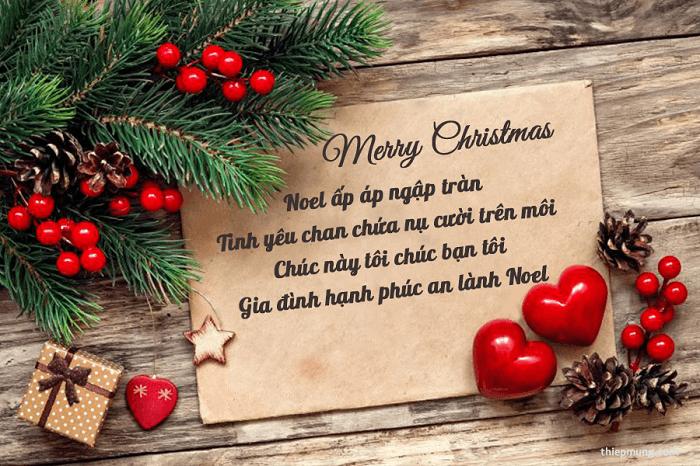 Lời chúc Giáng Sinh ấm áp và ý nghĩa gửi tới người thân yêu