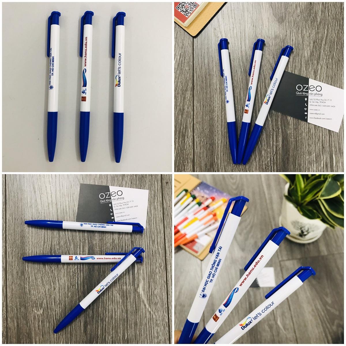 Bút bi quảng cáo Thiên Long màu xanh dương