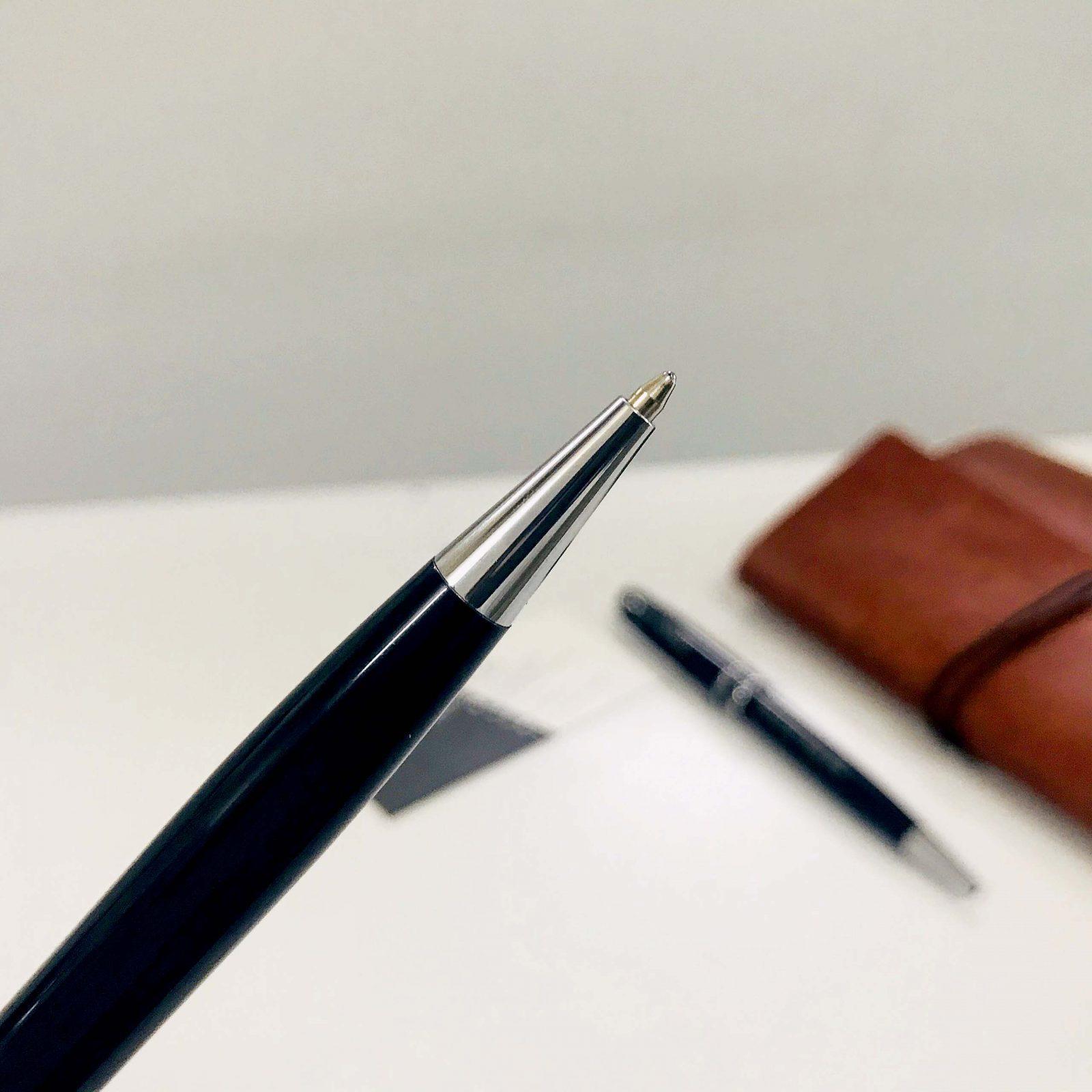 Phần thân bút được thiết kế đơn giản.