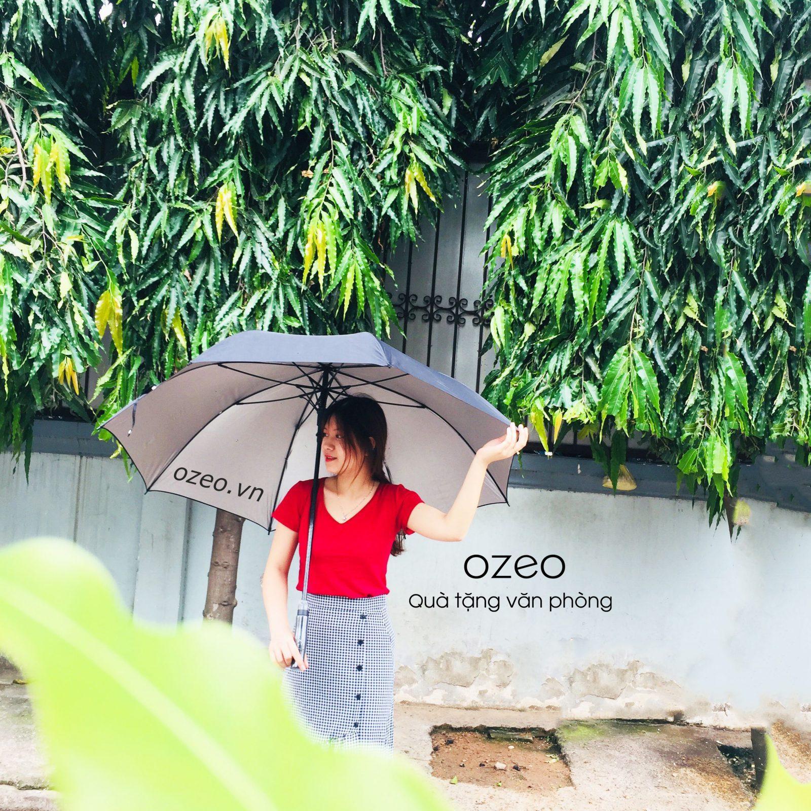 Khả năng che nắng, che mưa của dù Poly đen cực tốt.
