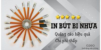 Nơi Sản Xuất Và In Bút Bi Nhựa Giá Rẻ Tại Tp.HCM