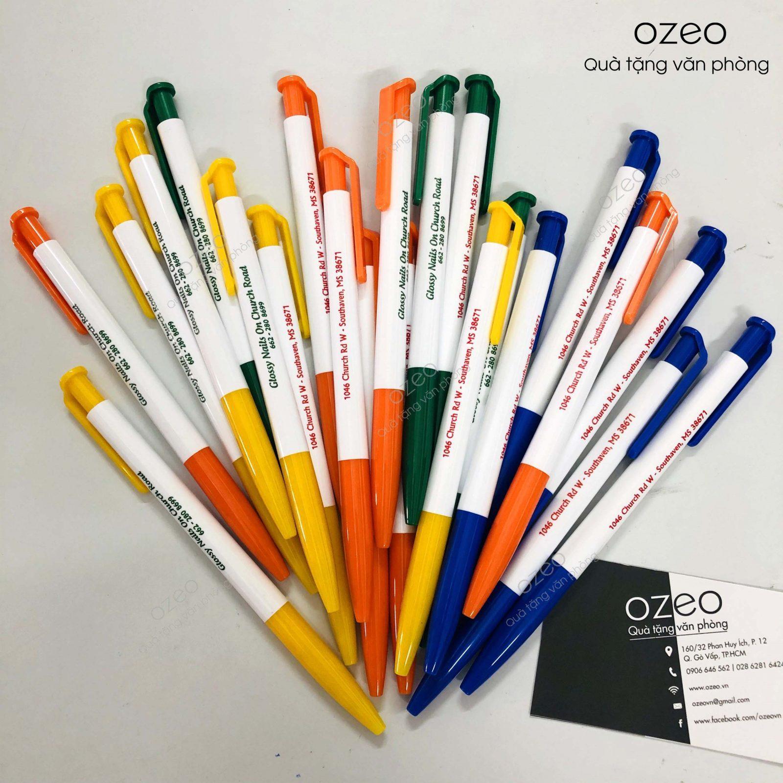 Bút Bi Nhựa Quảng Cáo Thiên Long TL023