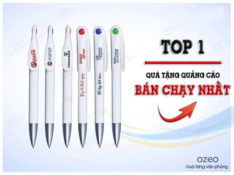 In bút bi nhựa dưới 10k - Giải pháp quà tặng quảng cáo hiệu quả cho doanh nghiệp