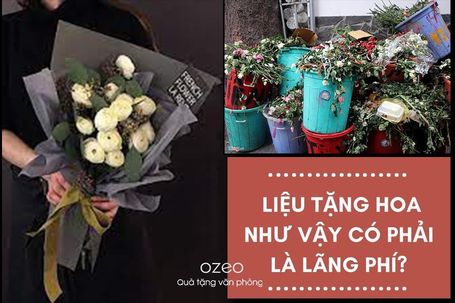 Doanh nghiệp lựa chọn hoa làm quà tặng cho khách hàng, nhân viên là một điều sai lầm.