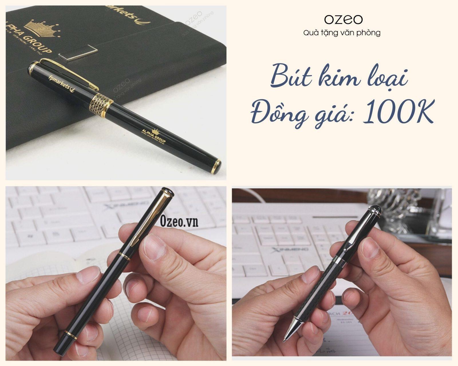 Các mẫu bút kim loại có giá dưới 100k được ưa chuộng nhất hiện nay.