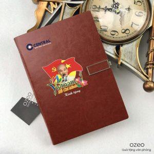 Sổ Tay In Logo Làm Quà Tặng 30/1 – 1/5 – LSA5-G201 Nâu